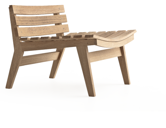 Barriques Third Life of Wood Lounge chair